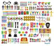 PARTY Borsa regali giocattoli (Bottino Pinata Regalini) Compleanno vasta scelta/intervallo UK