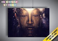 Cartel Buda Zen Relajación Arte