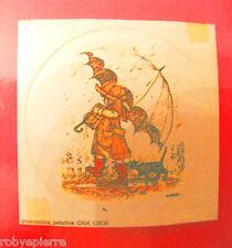 Adesivo sticker vintage promozione patatine crik crok HOLLY HOBBIE ombrello