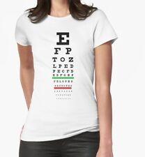 Eyesight Test Chart T-Shirt (Women)