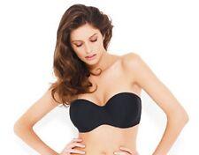 Panache SW0623 Swimwear Holly Bandeau Bikini Top Black