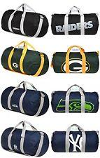 NFL ,MLB Team Vessel Barrel Duffle Gym Bag