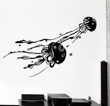 Wall Decal Jellyfish Ocean Sea Ornament Tribal Mural Vinyl Decal (z3185)
