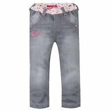 CHIPIE Baby jeans Hose grau rosa glitzer Sterne Logo 62 68 87 80 86 92  NEU