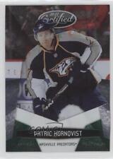 2010-11 Certified Platinum Emerald #81 Patric Hornqvist Nashville Predators Card