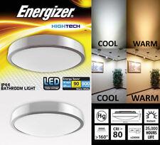 10w LED Energizer Baño Lámpara Techo - Impermeable IP44 - COOL O Blanco cálido