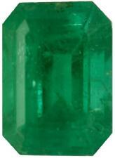 Natural Extra Fine Green Emerald - Emerald Cut - Brazil - Extra Fine Grade