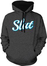 Slut Ho Sex Lots Girl Woman Promiscuous Party Cheat Two Tone Hoodie Sweatshirt