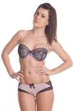 Cemtilly  ensemble soutien-gorge et boxer skys lingerie 90D / L