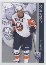 2008-09 Upper Deck Be a Player #110 Doug Weight New York Islanders Hockey Card