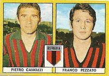FIGURINE CALCIATORI EDIS 1969 / 70 *FOGGIA   * CAMOZZI  / PEZZATO - NUOVA