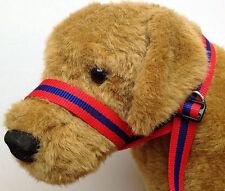 25mm Nylon Figura de Ocho 8 web perro collar de cabeza conduce Perros Grandes Nuevos Colores