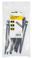 New listing Gardner Bender Ctch8-60100Uvb Low-Profile Cable Tie, Uv Black, 8-In., 100-Pk. -