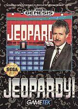 Jeopardy (Sega Genesis, 1992) COMPLETE VINTAGE GAMES
