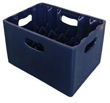 24 vano 330 ML LAGER BOTTIGLIA IN PLASTICA IMPILABILE Birra Bottiglia Vetro Di Latte Crate