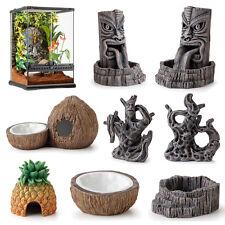 Exo Terra Tiki Range - Reptile Terrarium Water Dish Waterfall Ornament Hide Cave