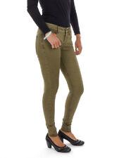 O'Neill Pantaloni di tessuto chino verde Skinny Vintage 5 TASCHE Elastica