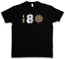 180 DARTS T-SHIRT – Dart Arrows Dart TARGET Zielscheibe Pfeile Profi Shirt