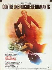AFFICHE FILM UN OTAGE POUR UNE POIGNEE DE DIAMANTS 1974 petit format