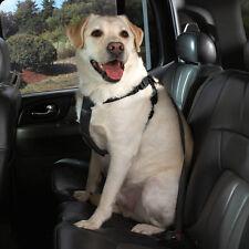 Coche Negro Arneses para Perros Viaje Seguridad Asiento Hebilla Correa de Nylon