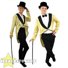Gold Sequin habit Danse Costume Unisexe Homme Femme Déguisement Cabaret Spectacle