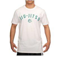New Fuji Sports Bjj Graphic Jiu-Jitsu T-Shirt T Tee Shirt - White