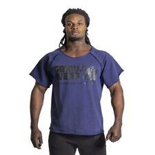 Gorilla Wear Classic Work Out Top blu marino