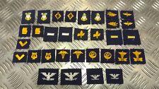 Authentique États-unis Marine Naval Col Appareil Correctifs Divers Insignes USN