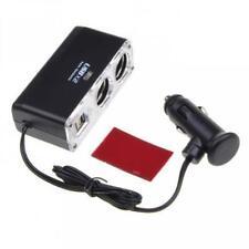 For T-MOBILE PHONES - CAR LIGHTER SOCKET SPLITTER 2-PORT CHARGER ADAPTER TWO