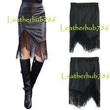New Sexy Hot Skirt Genuine Lambskin Black Leather Women Party Office Wear 219