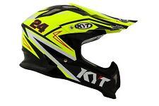 Casco Helm Casque Helmet KYT STRIKE EAGLE Simpson Replica Yellow 2018 YSEA0018