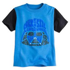 Disney Store Star Wars Darth Vader Puff 3D Ink Boys T Shirt T Size 10/12 & 14