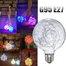 Retro Vintage Globe Starry Sky Light LED Bulb Edison Colorful Lamp E27 Socket YA