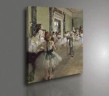 Edgar Degas Lezione di Danza Quadro Stampa su Tela Vernice Pennellate Poster