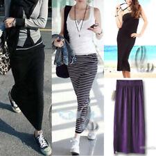 AU SELLER Celeb Style Jersey Stretch Pencil Maxi Skirt Tube Dress dr122