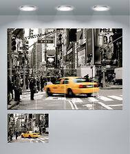 New York Taxi paisaje Escena Gigante Pared arte cartel impresión