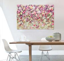 3D Pink Flowers Wall Stickers Vinyl Murals Wall Print Decal Deco Art AJ STORE AU