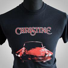 Christine Retro Movie T Shirt Stephen King Horror Car Vintage