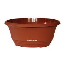 30cm (12 inch) Plastic Teku T30 Bulb Bowls / Plant Pots for Alpines, Bonsai etc
