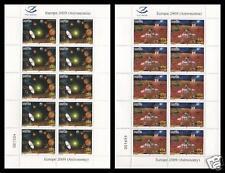2009 Europa CEPT - Albania - minifogli