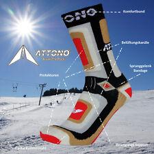 Snowboardsocken ATTONO Snowboard Ski Trekking Wander Strümpfe Socken