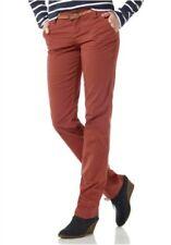 Boysens Pantalones Chinos Cinturón L Gr.72 76 Nuevo Mujer Stretch Rojo  Loose Fit 380e17bb9c30