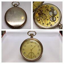 Antike Silbertaschenuhr Taschenuhr 900er Silber Uhr Handaufzug