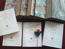 BEAUMARCHAIS 1732- 1799 SA VIE SON OEUVRE 1932( 4 VOLUMES édition numérotée )
