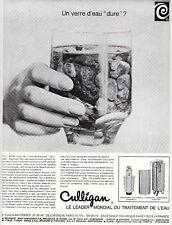 "Publicités "" Culligan Traitement de l'eau  1965 """