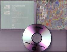 GRIZZLY BEAR Two Weeks w/ RARE RADIO MIX PROMO DJ CD
