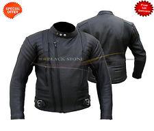 black leather jacket terminator style leather jacket black leather jacket xs-4xl