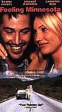 Feeling Minnesota Movie VHS 1997 Keanu Reeves Cameron Diaz D'Onofrio New