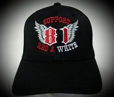 Hells Angels, Support 81, Flexfit Cap Avec Stick.