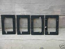 Schaller 5 String black bass roller bridge shims